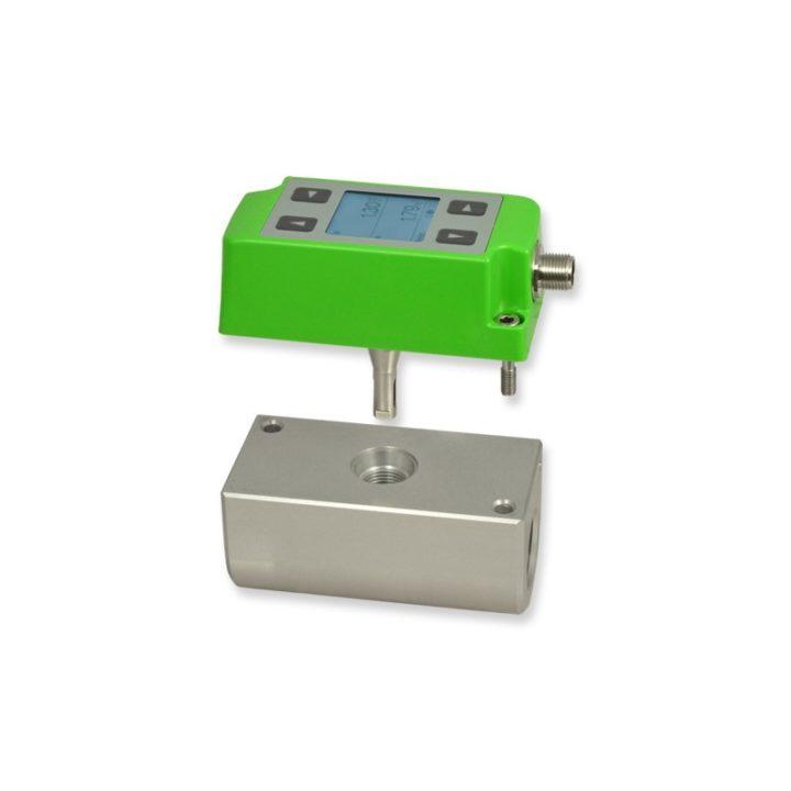 moduláris termikus tömegáram mérő