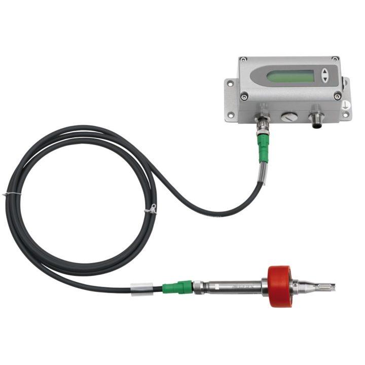 áramlásmérő külső érzékelővel