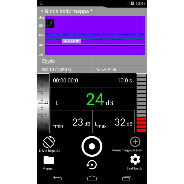 ultrahangos applikáció